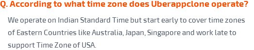 According to what time zone does eSiteWorld operate?
