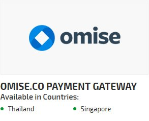 Omise.co Payment Gateway