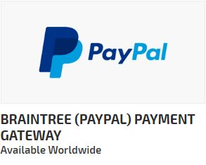 Braintree (Paypal) Payment Gateway