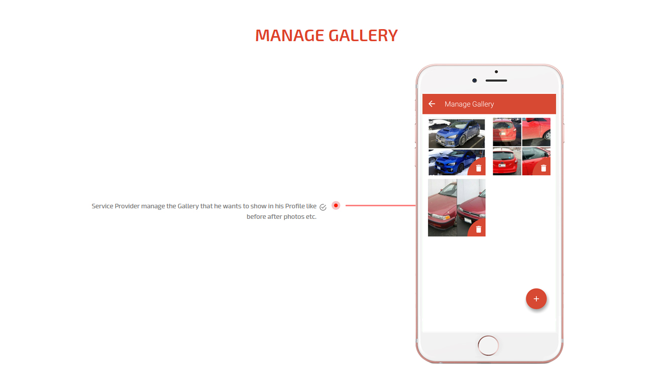 manage gallery
