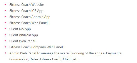 on demand fitness trainer app script