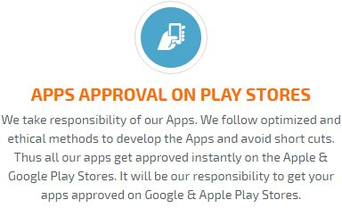 App Approval on Play Store or app store